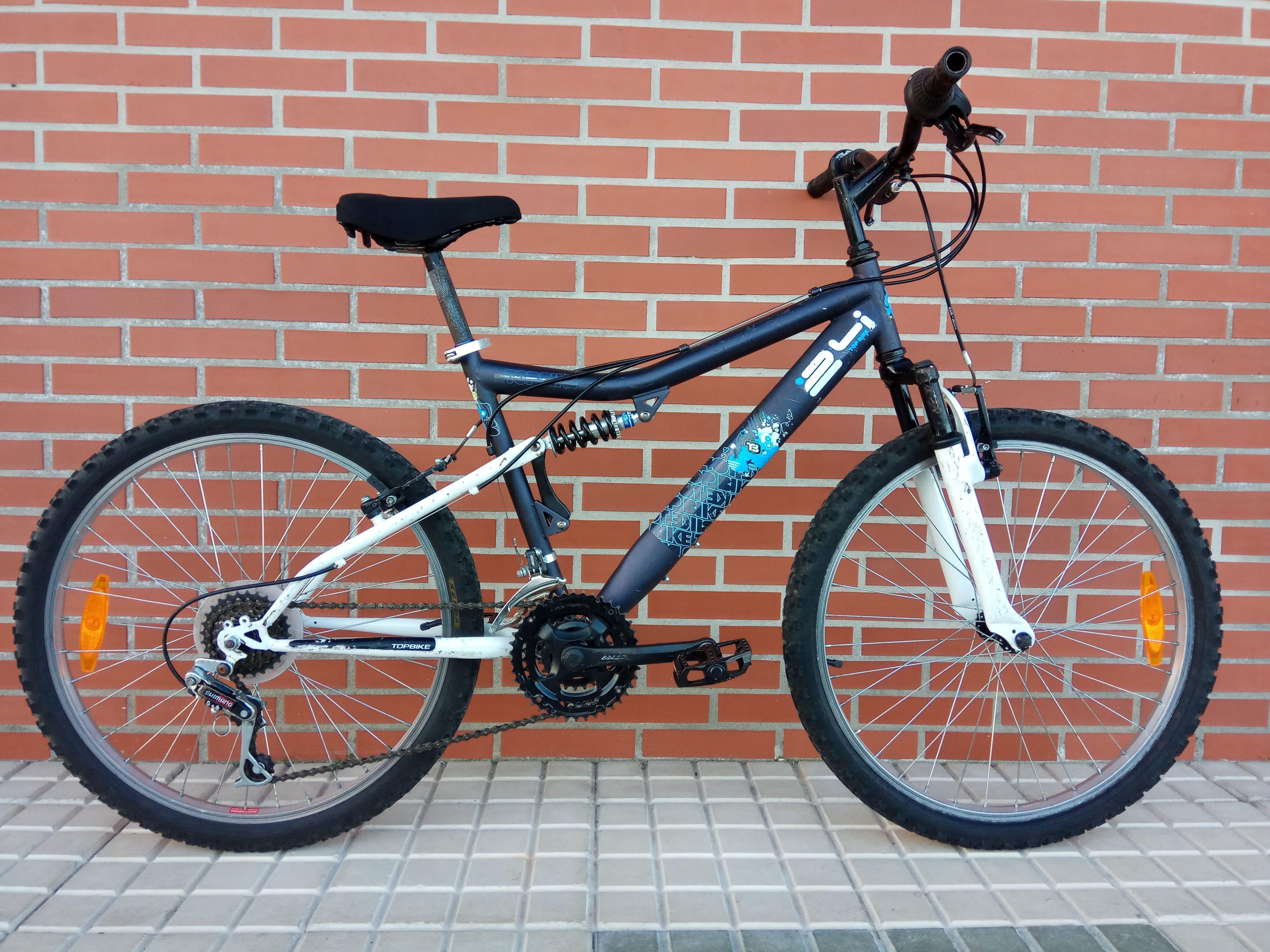 Bicicleta Topbike 24i 80€ MARCA: Topbike MODELO: 24i CLASE: Montaña ...