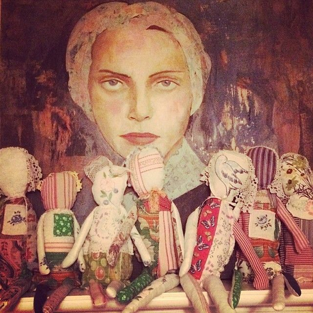 Sometimes you have to follow your whims. #spiritdoll #madebyhand each one #unique just like us. Made from scraps. #art #artist #mixedmedia #rebeccamcfarland #collage