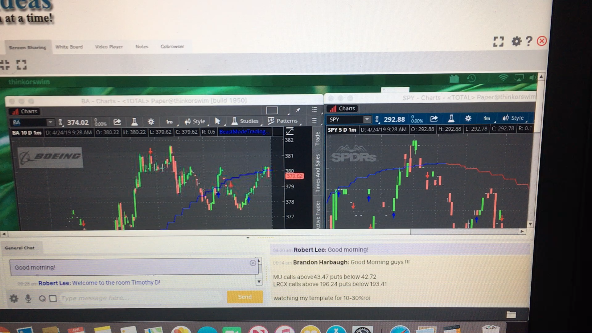 Option trade | Stock Trade Ideas | First trade, Day trading, Investing