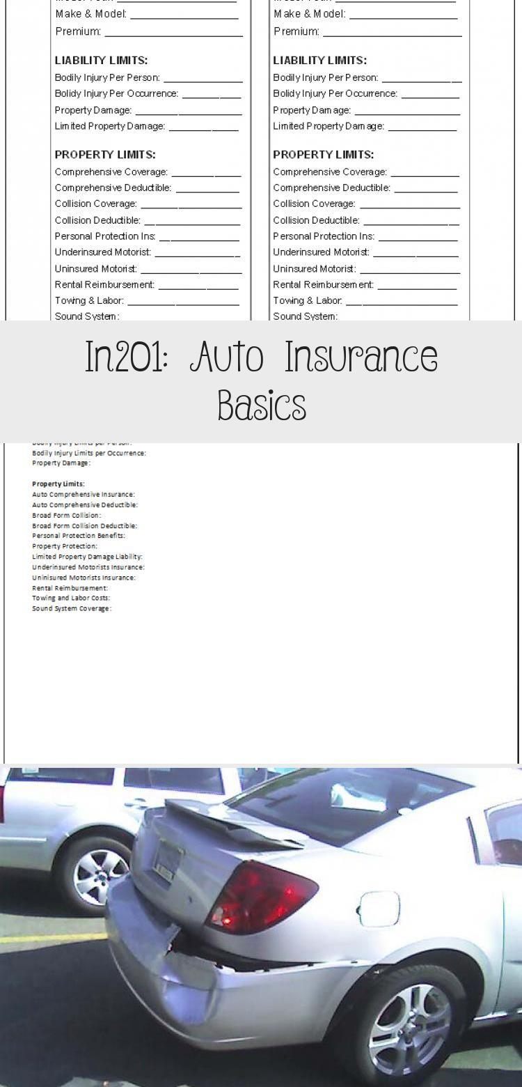 In201 Auto Insurance Basics Wholelifeinsurance