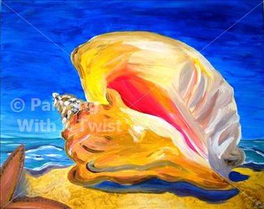 Painting With A Twist Painting Sea Life Art Diy Canvas Art