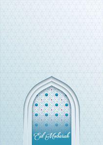 Free Printable Hari Raya Happy Eid Greeting Cards Invitation