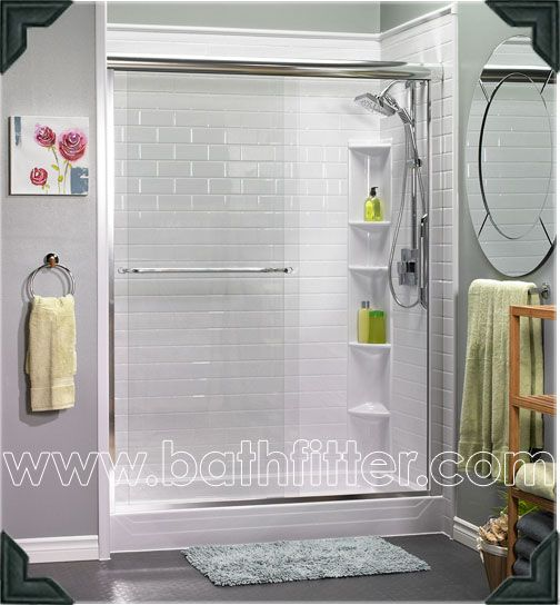 A Beautiful Bath Fitter Walk In Shower Unit Completed In