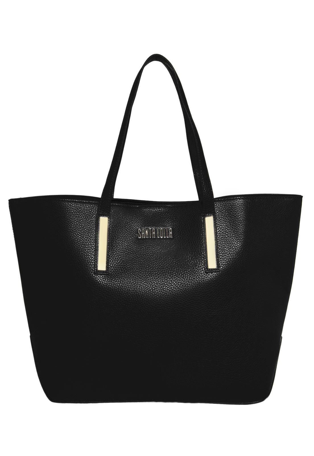 75803077b Bolsa Santa Lolla Craqueada Preta - Marca Santa Lolla | Accessories ...
