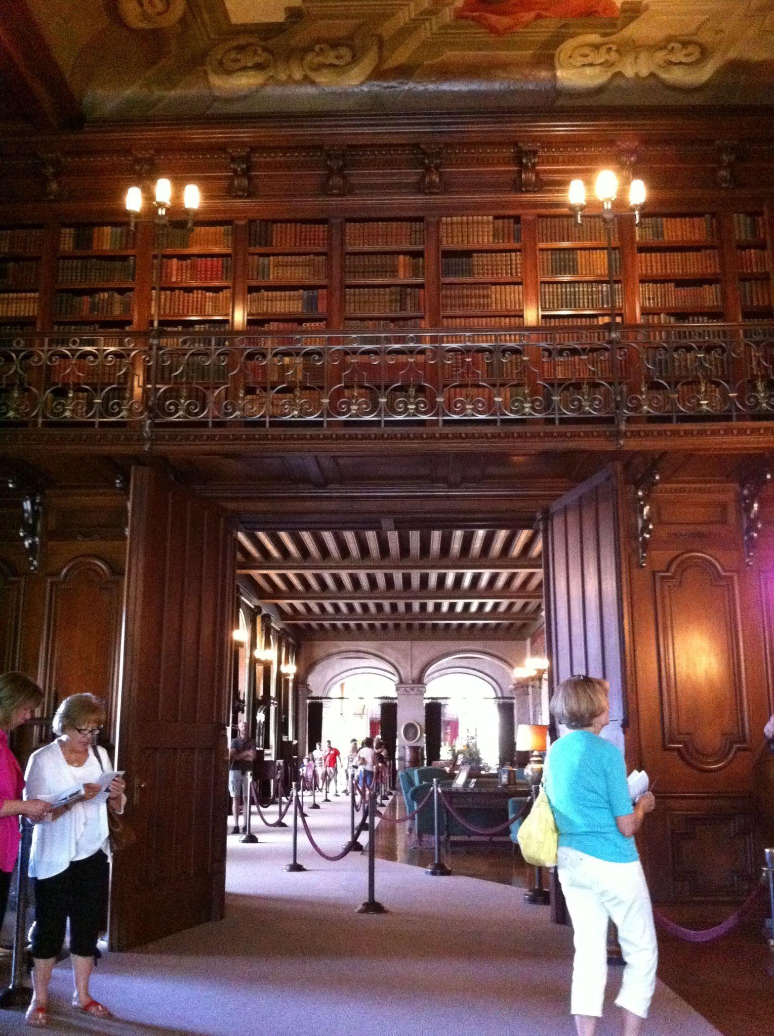 Biltmore Library Estate Asheville Nc In