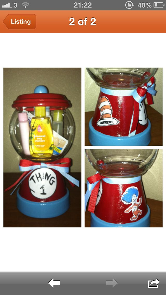 Dr seuss candy jar