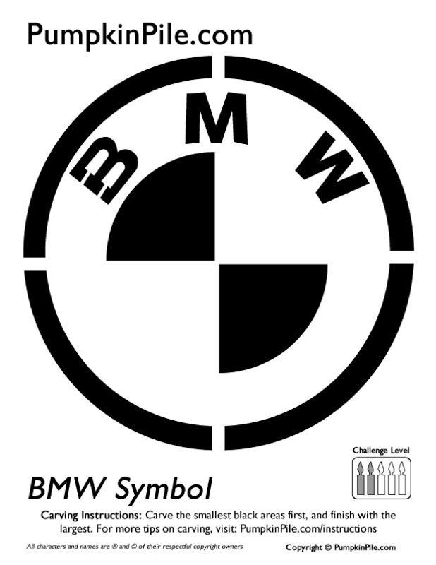 Automotive Pumpkin Carving Patterns - #BMW | Reeves BMW | Pinterest ...