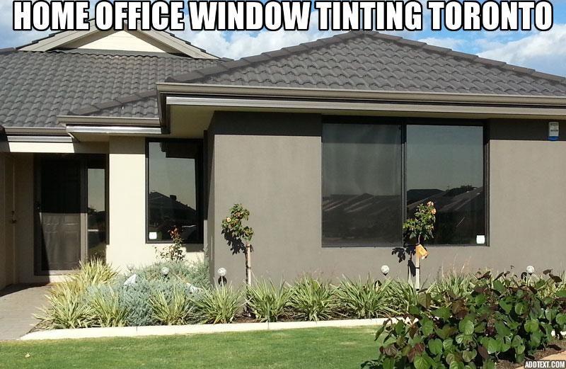 Home office window tinting toronto office window tinted