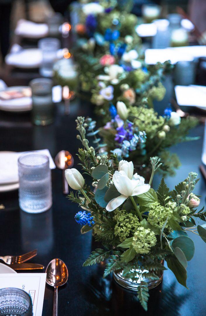 Flower Settings, blogger's brunch