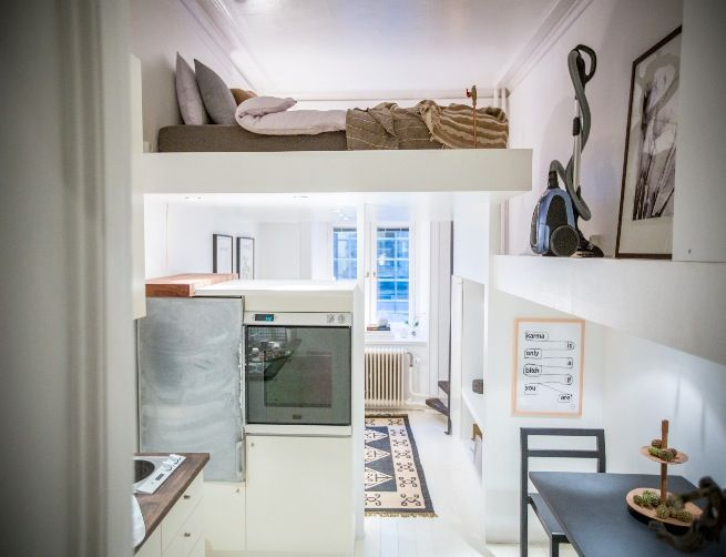 Compact Living, 19 Sqm Found On Hemmafixbloggen.se