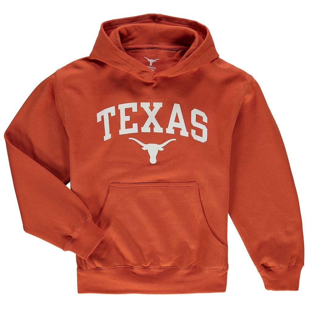 Youth Texas Orange Texas Longhorns Texas Arch Pullover Hoodie Hoodies College Sweatshirts Hoodie Pullover Hoodie [ 1024 x 1024 Pixel ]
