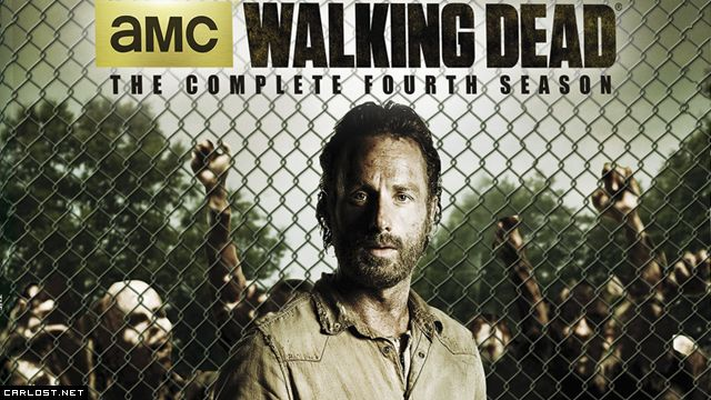 The Walking Dead: DVD & Blu-ray de la Temporada 4 | The Walking Dead ...