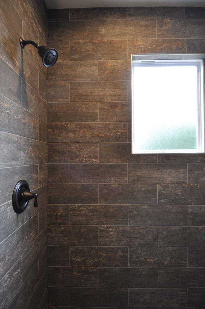 Master Bathroom Shower Privacy Window Oil Rubbed Bronze
