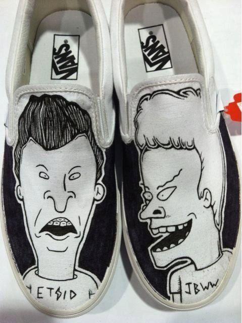newest 6630b afa56 beavis  butthead shoes