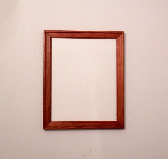 Picture Frame Whiteboard Natural Wood By Leeartdesigns On Etsy