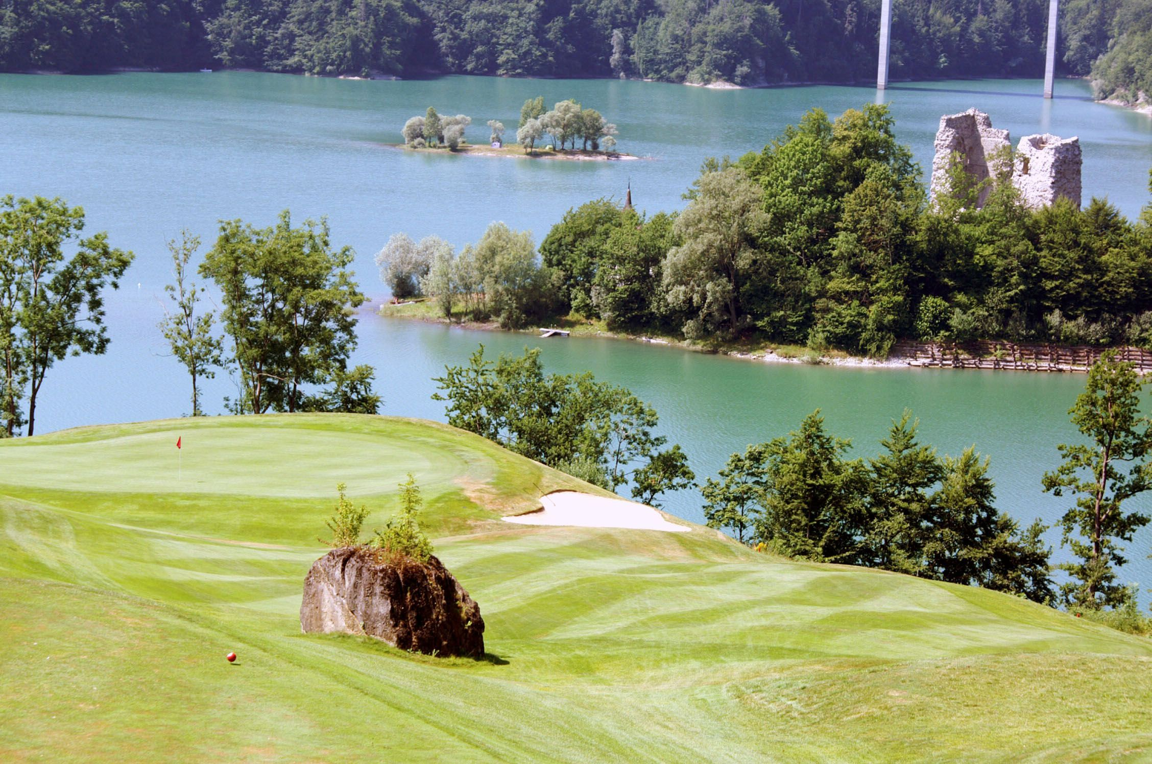 Golf Course Gruyere Switzerland Golfcourse Golf Courses Top Golf Courses Golf