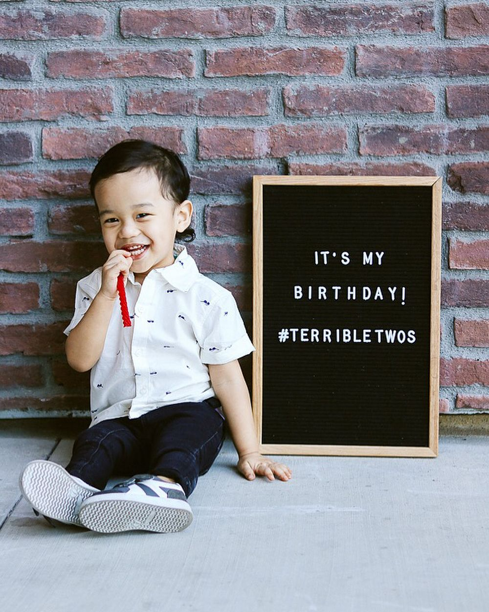 2nd Birthday Photoshoot With A Letterboard Birthday Birthday Boy Quotes 2nd Birthday Boys Birthday Quotes Kids