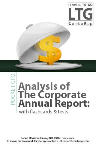 Analysis of The Corporate Annual Report with flashcards and tests - annual report analysis sample