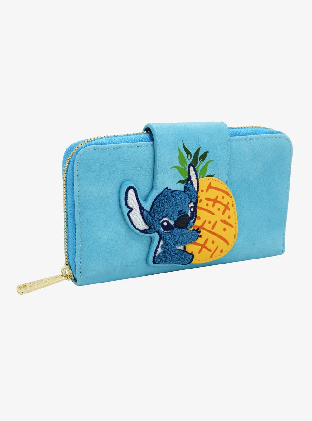 Loungefly Disney Lilo & Stitch Pineapple Stitch Zipper Wallet #liloandstitch