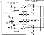 high power audio amplifier 2800w, mono power amplifier ouput is 1400watt /  channel  and this circuit is mono power amplifier circuit   see schematic :