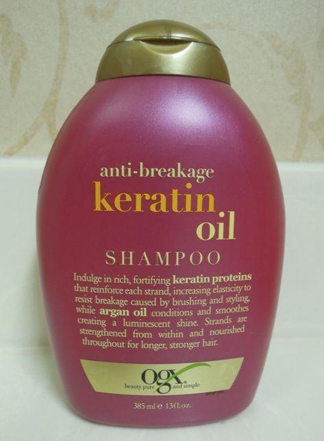 Organix Keratin Oil Shampoo Natural Hair
