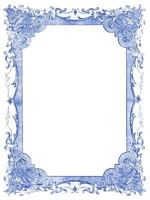Vintage Blue Frames and Stars - Hanukkah | Pinterest | Graphics ...