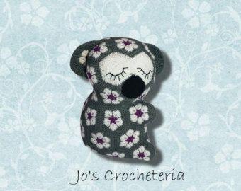Crochet Pattern Maggie The African Flower Owl Crochet Pattern