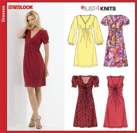 NL6802 for Leigh in silk jersey, with a fitted elbow length sleeve ...