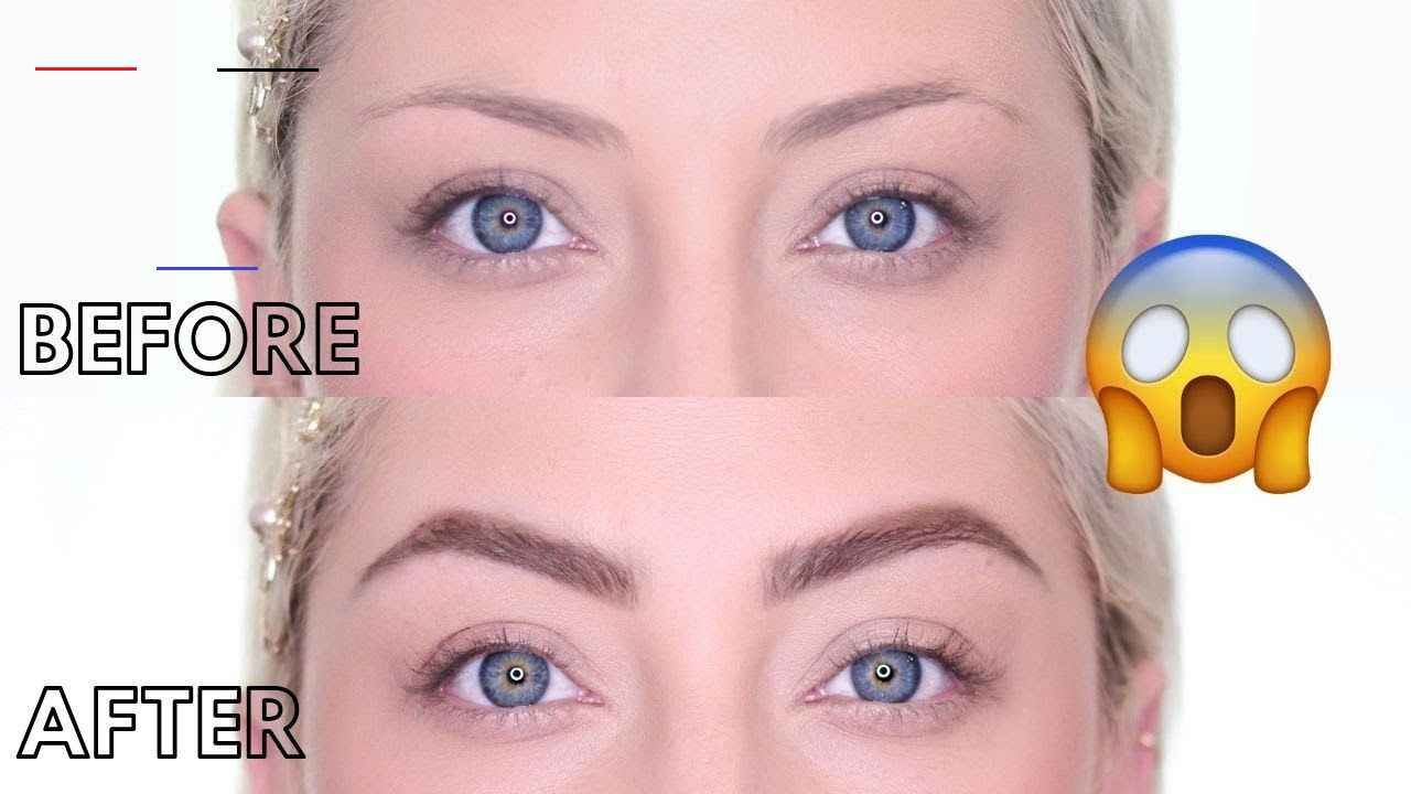 EYEBROW TUTORIAL 2019 | How to fill in Sparse or Thin ...