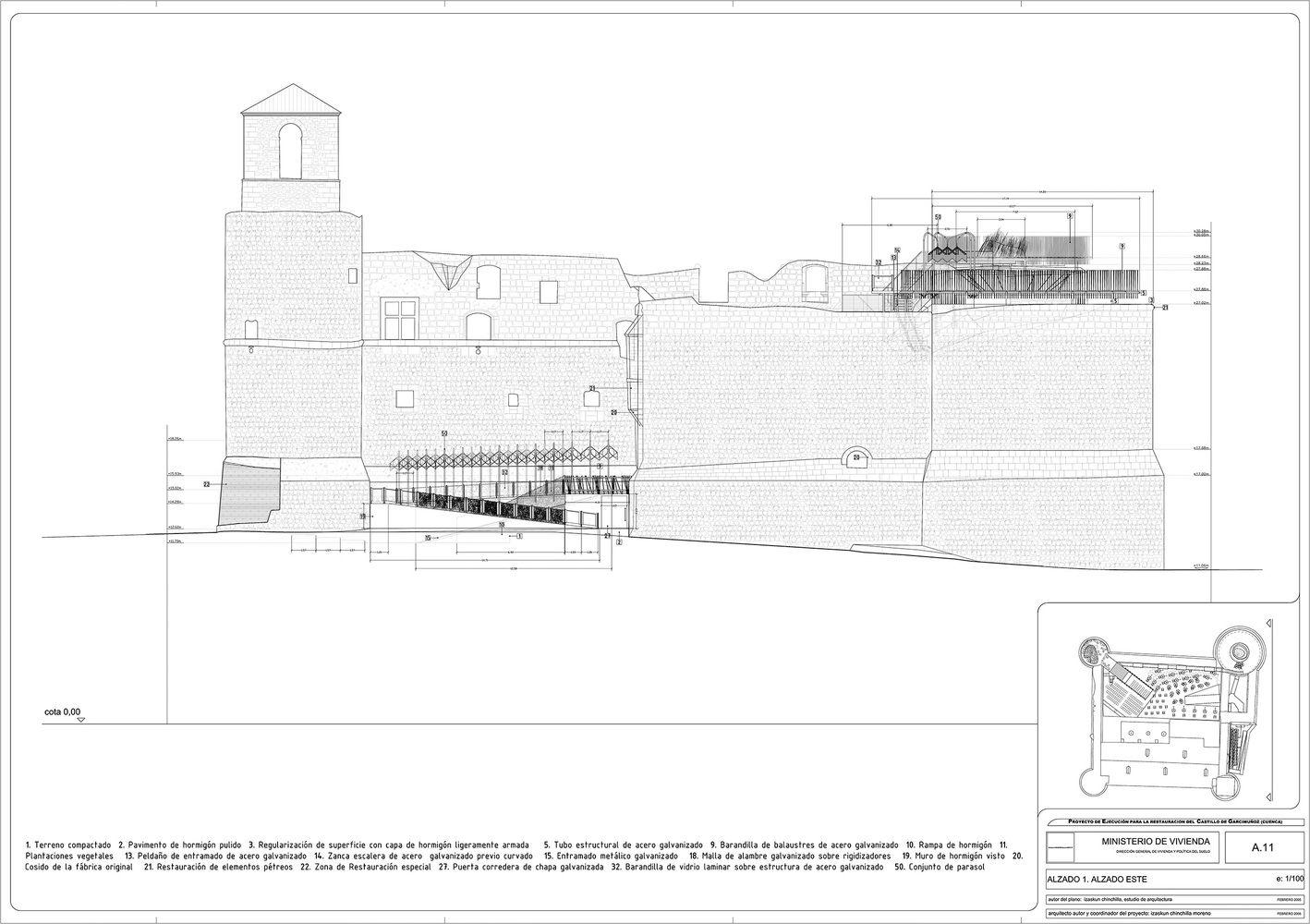 Galería de Restauración Castillo Garcimuñoz / Izaskun Chinchilla - 31