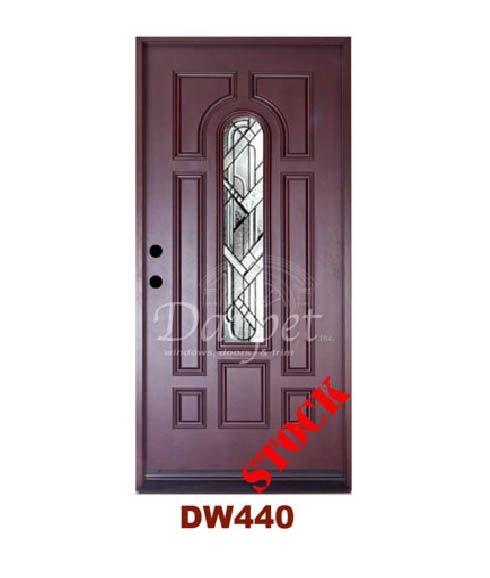 Dark Walnut Exterior Fiberglass Door   Darpet Interior Doors for Chicago Builders ://