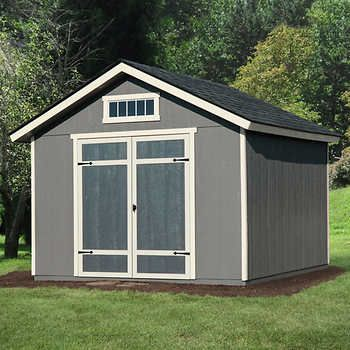 Braxton 12 X 24 Garage Shed In 2020 Wood Shed Plans Building A Shed Shed Plans