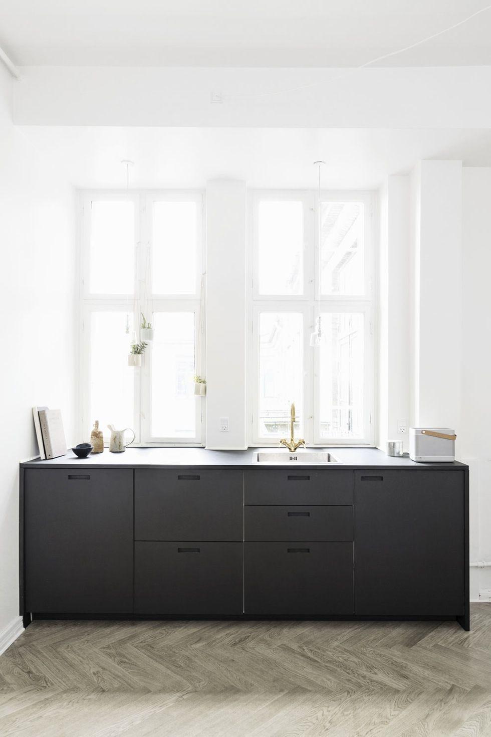 Grundmoduler fra Ikea, frontene fra &Shufl | kitchen . bw ...