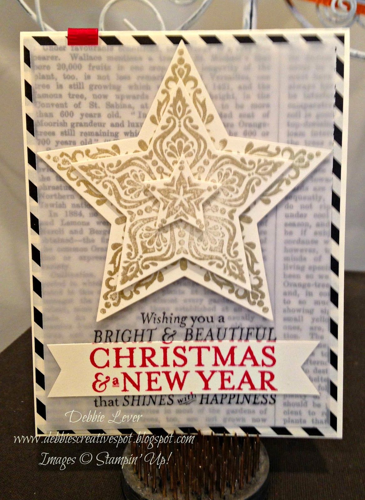stampin' up holiday catalog with images  hand stamped