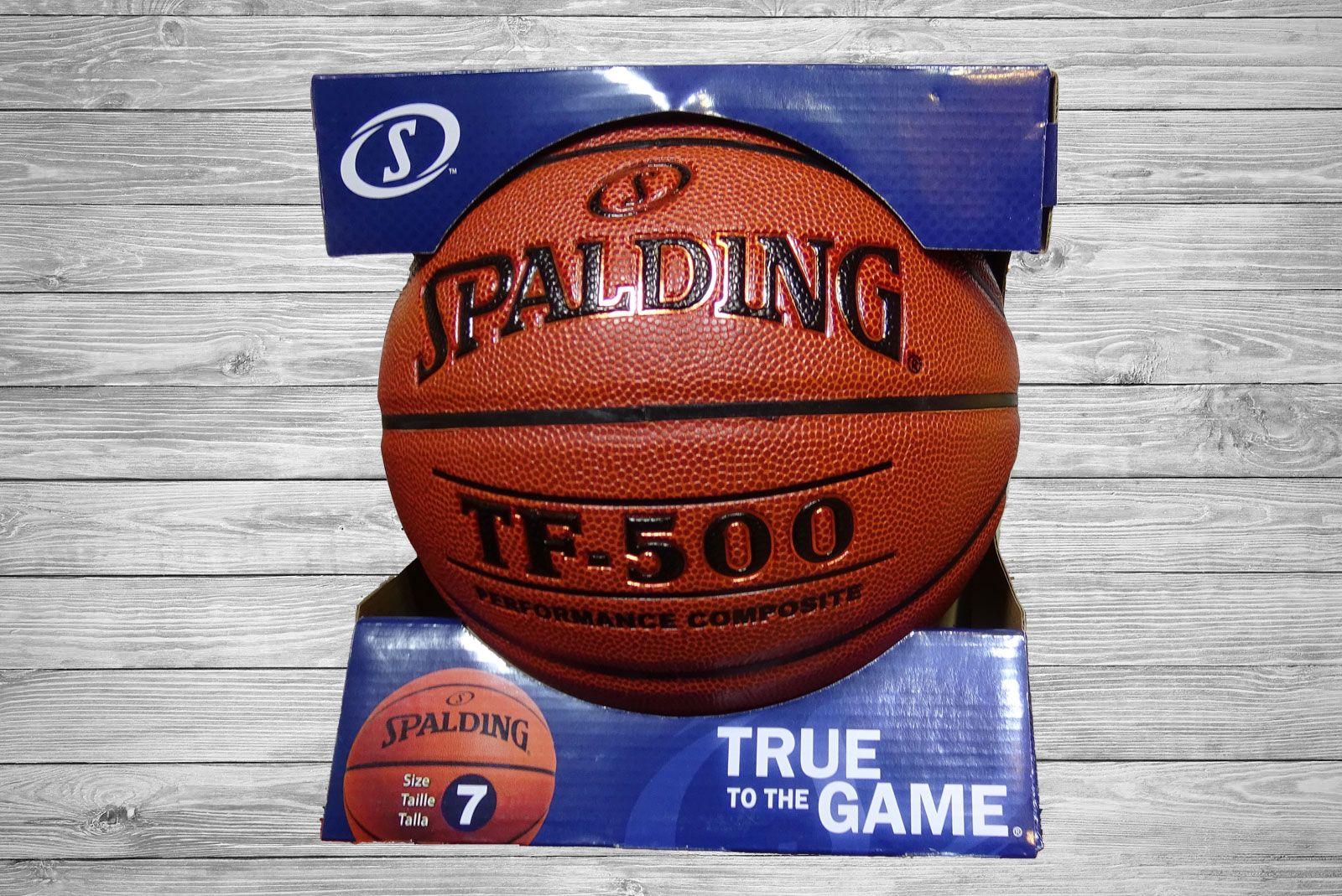 Balón baloncesto TF 500 Spalding. Indoor-outdoor. Talla 7  b0aada49d3635