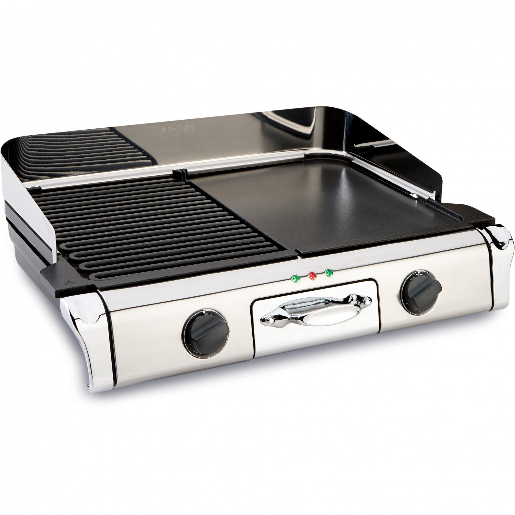 Whip Up Brunch For A Crowd With This All New All Clad Electric Grill And Griddle This Electric Grill Griddle Combo Un Electric Grill Electric Griddle All Clad