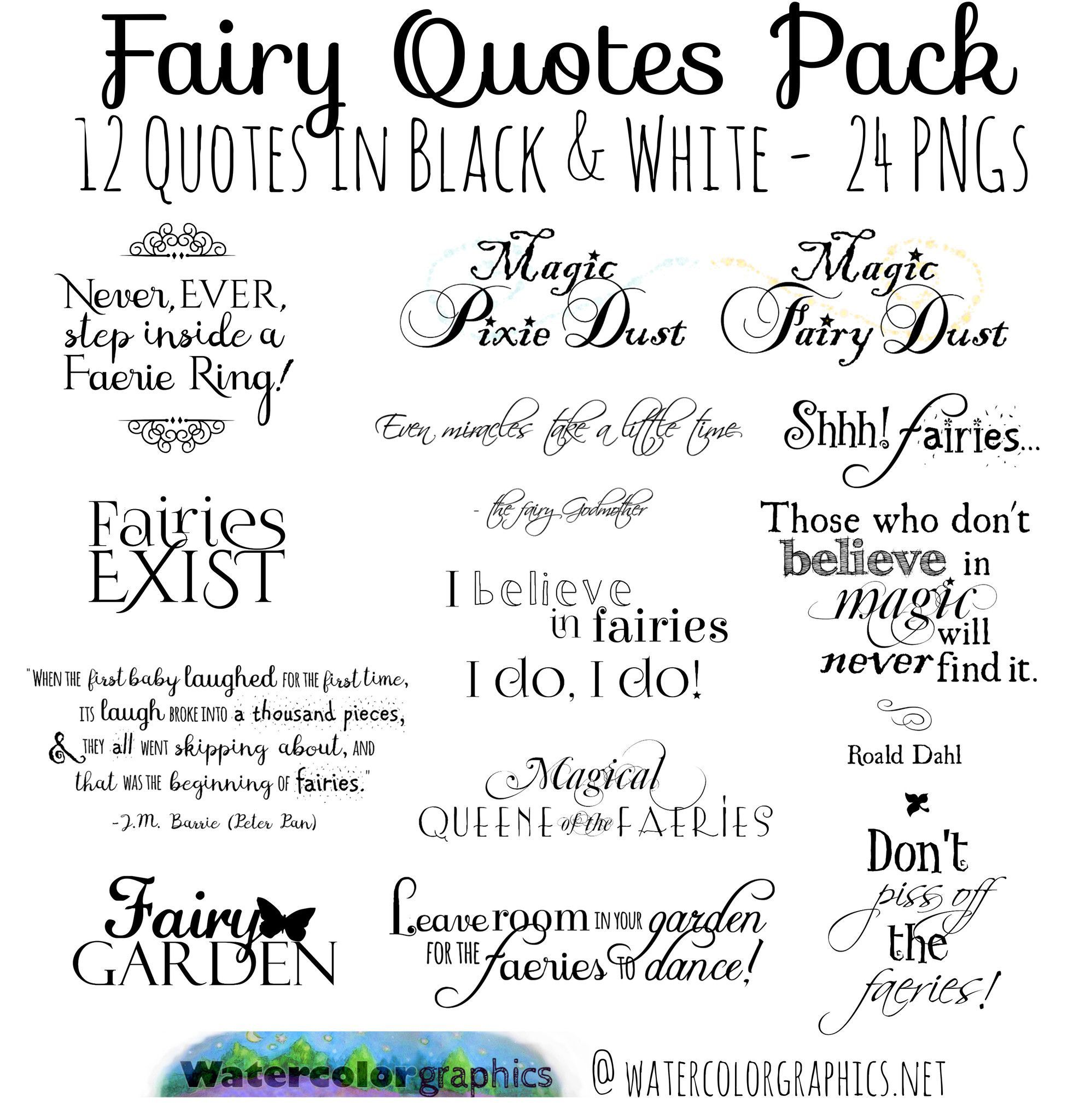 Pin By Watercolorgraphics On Products Fairy Quotes Art
