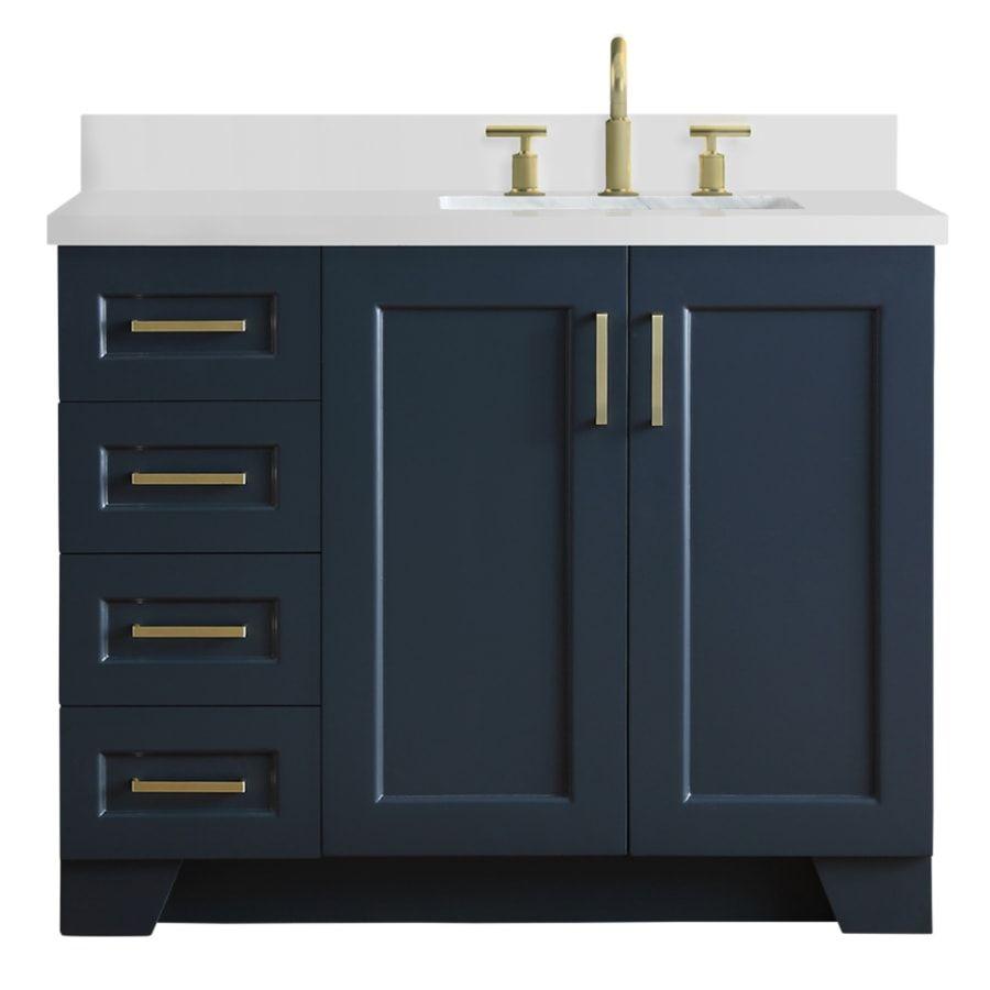 31+ Left sink vanity top model