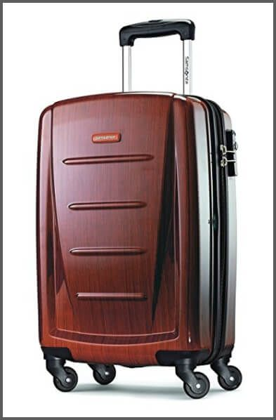 The Samsonite Winfield 2 Fashion Spinner - one of the best carry-on  suitcases 0dd3f3fb63db6