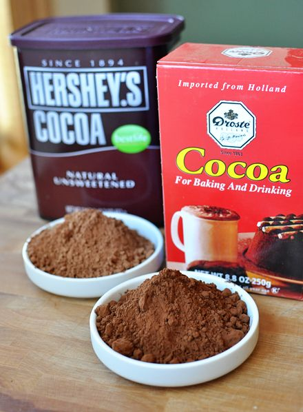 explains the difference between regular cocoa powder and dutch processed never knew and glad i do now