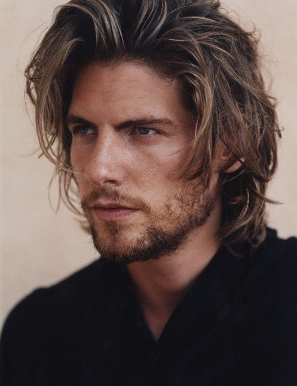 Fotos peinados cabello largo hombres