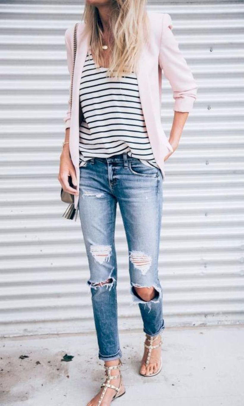 Amazing top spring summer fashion style ideas for women mode