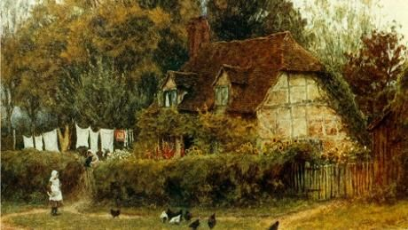 Image result for oakhurst cottage surrey by helen allingham