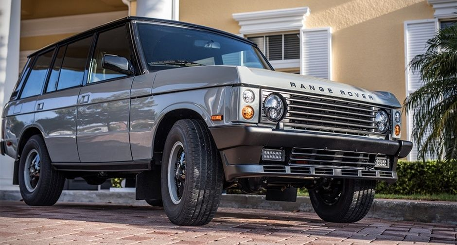 There S More Than Meets The Eye To This Restomod Range Rover