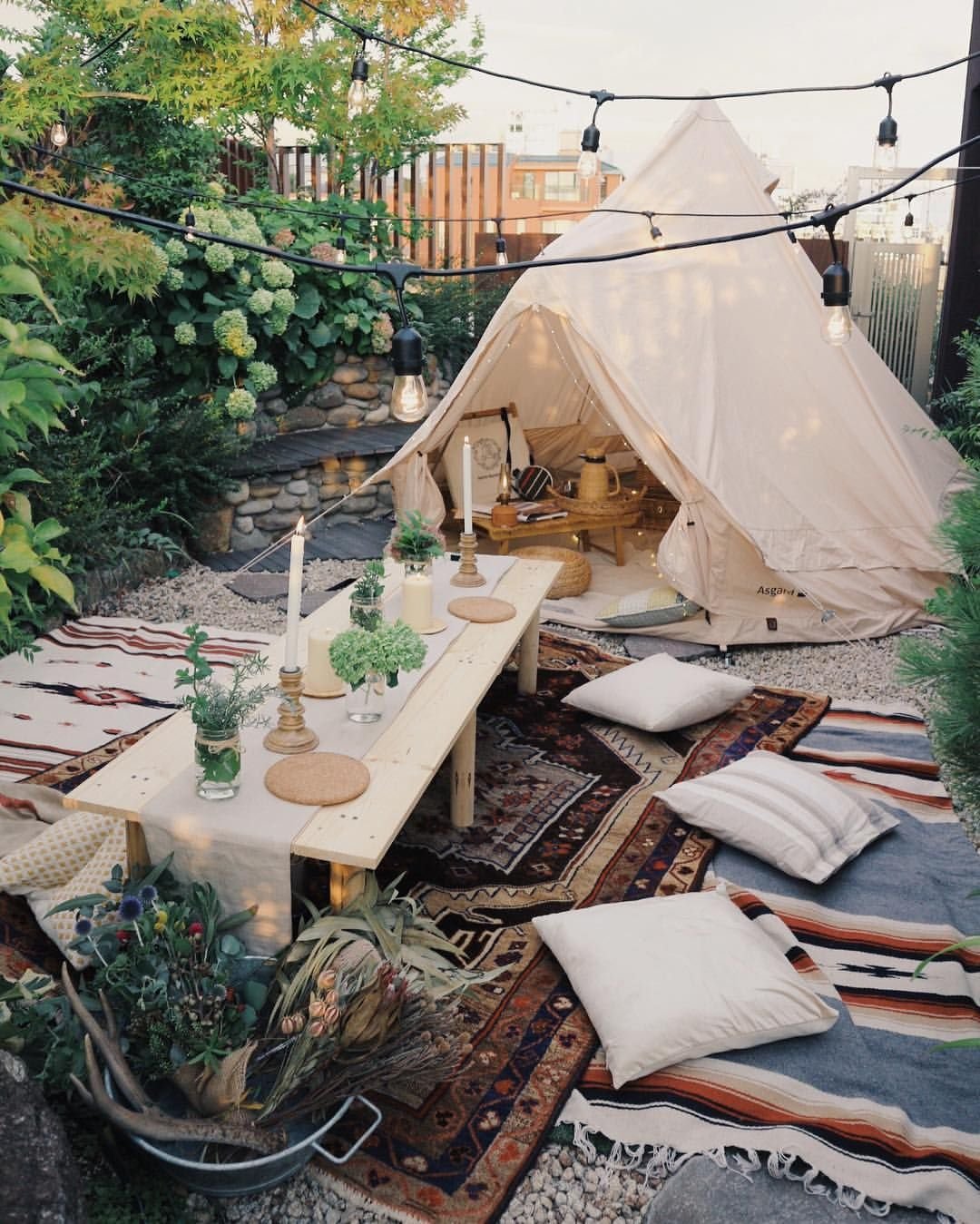 yuriexx67 glamping pinterest tents camping and backyard