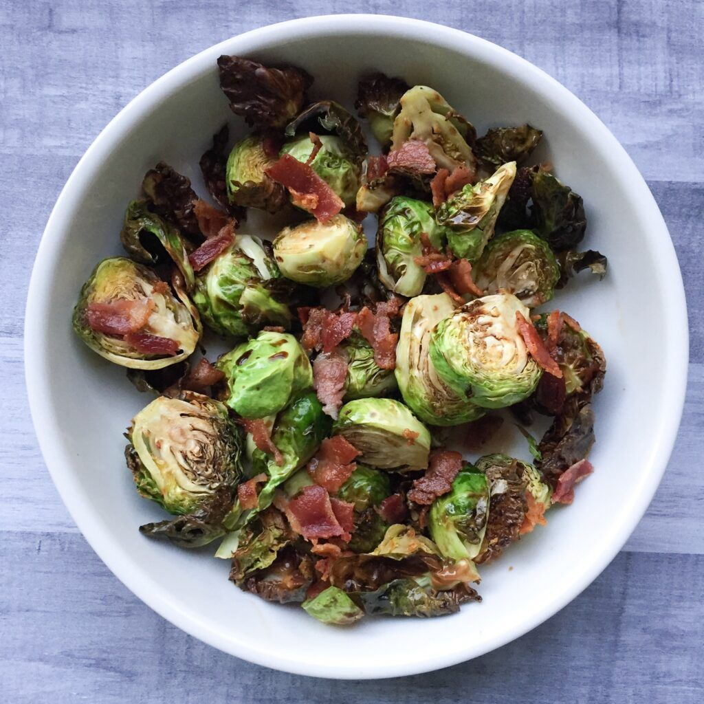 A Quick And Easy Recipe For Air Fryer Brussel Sprouts With