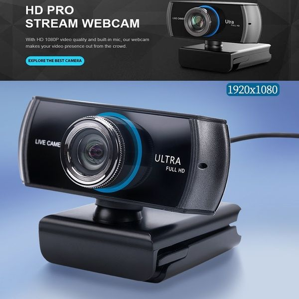 Full HD Webcam 1080P/1536P, Widescreen Video Calling and