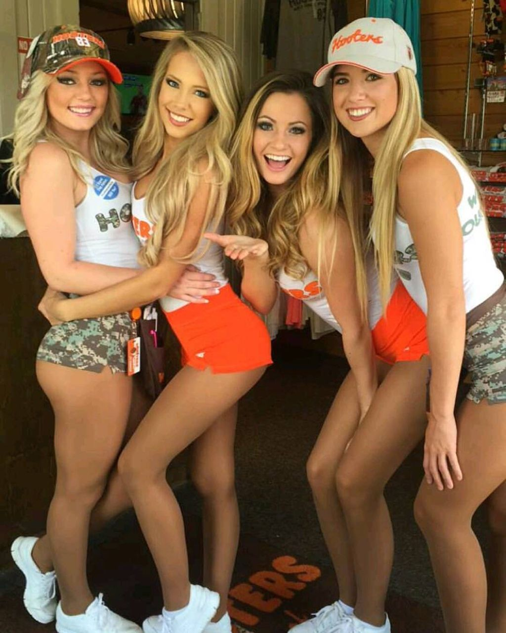 hooters girls making love