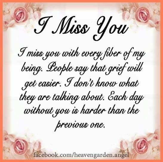 I Miss You Everyday