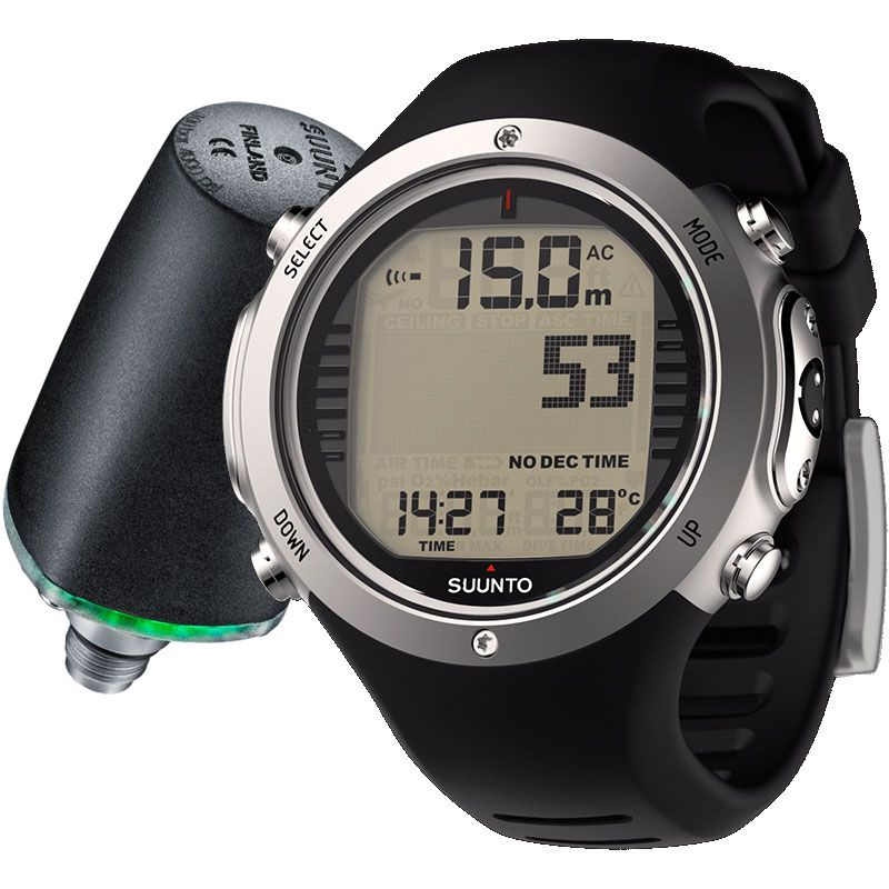 Suunto D6i Novo Watch Dive Computer with Transmitter